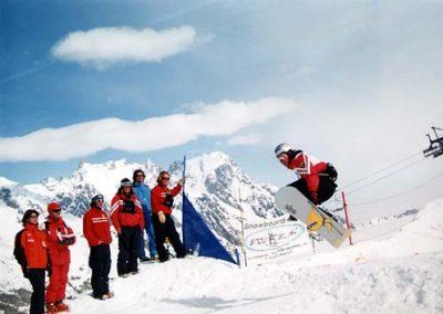 Foto snowboard