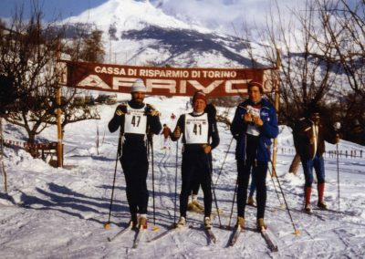 Scatti storici di gare Regionali che si sono svolte sulle piste di Arpuilles